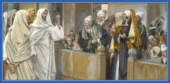 Иисус Христос, фарисеи, законники, искушают