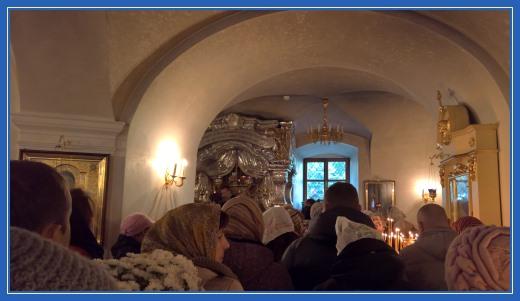 Мощи святой блаженной Матроны Московской