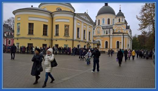 Площадь Покровской обители