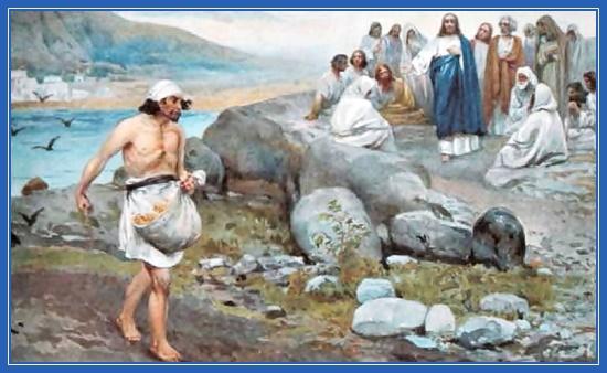 Притча о сеятеле, Евангелие, Иисус Христос