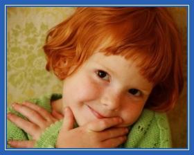 рыжая девочка, ребенок, с веснушками