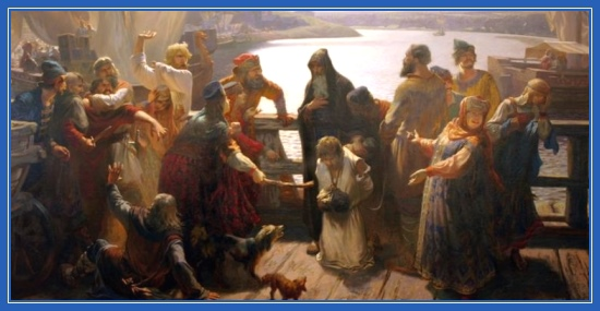Преподобный Варлаам Хутынский, спасение осужденного