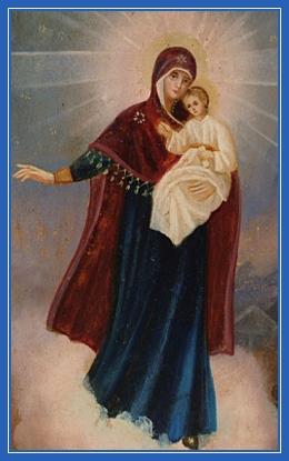 Пресвятая Богородица, явление, Божия Матерь