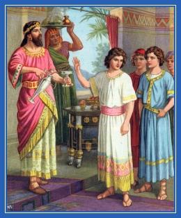Пророк Даниил и трое друзей, пост