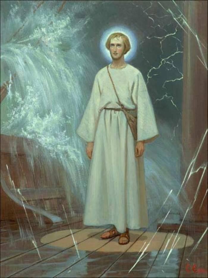 Св. Николай. Средь шторма