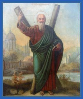 Апостол Андрей Первозванный, икона