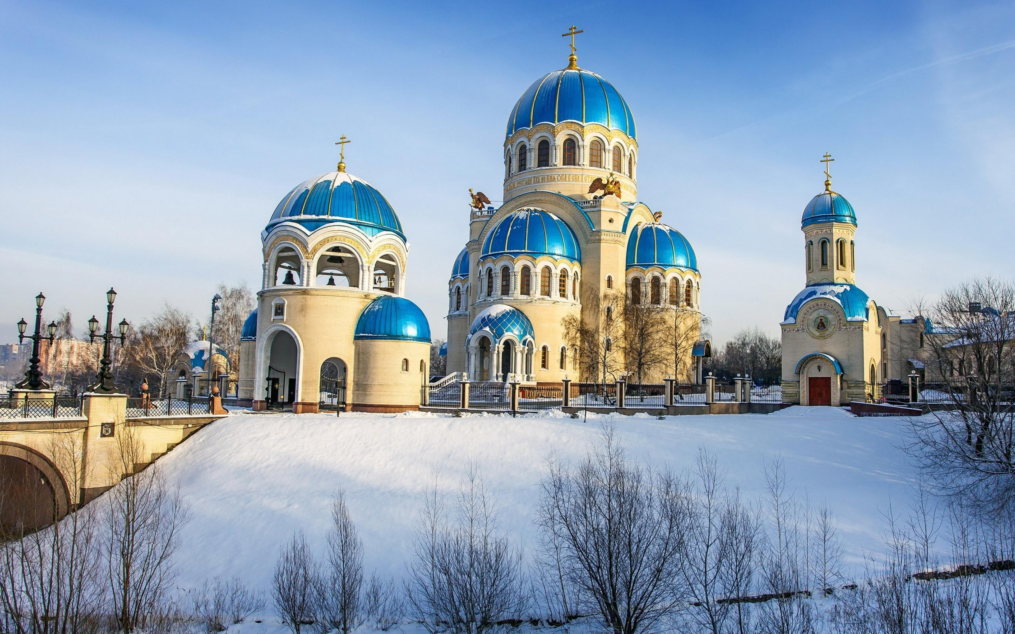 Храм Троицы Живоначальной на Борисовских прудах в Орехово-Борисово