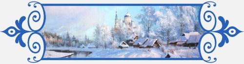Храм, зима, снег, 8