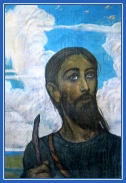 Преподобный Иоанн Дамаскин, в молодости