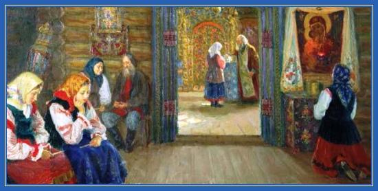Исповедь, покаяние, храм, на коленях