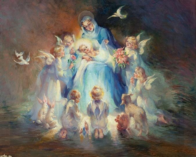 Рождество Христово. Ангелы