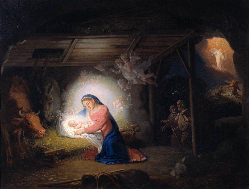 Рождество Христово. В. Боровиковский