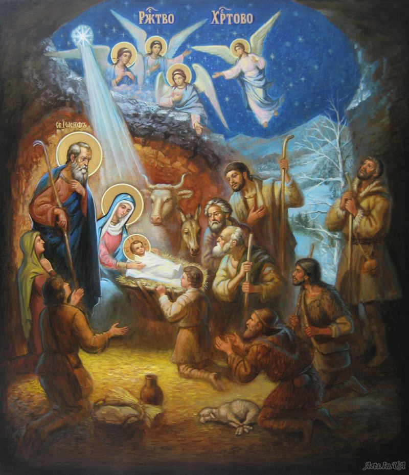 Рождество Христово. Юрченко Сергей