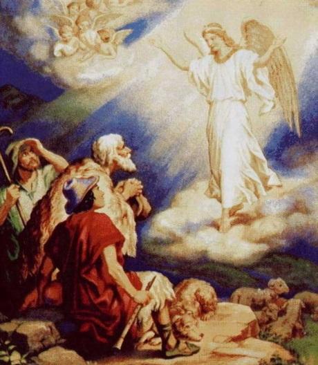 Возвещение Ангела. Пастухи