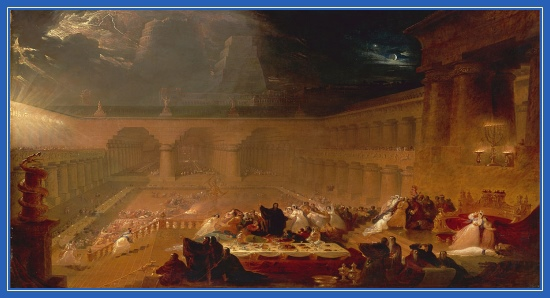 пир Валтасара, падение Вавилона