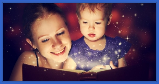 Чтение сказок, Сказки, с ребенком