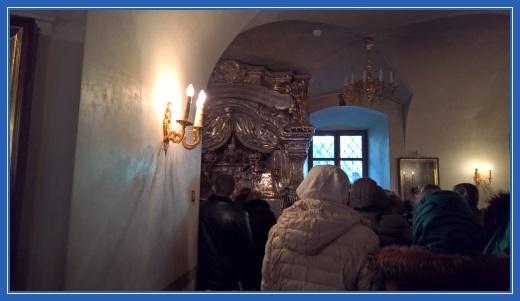 Мощи блаженной Матроны Московской