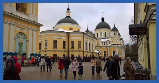 Покровский монастырь. 19 февраля 2017