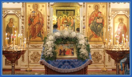 Сретение Господа нашего Иисуса Христа