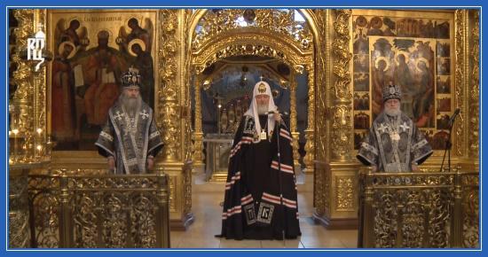 Святейший Патриарх Кирилл. Проповедь