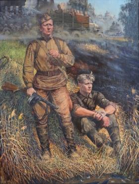 Хотят ли русские войны... Весна сорок пятого - центральная часть триптиха. Киреев В. Н.