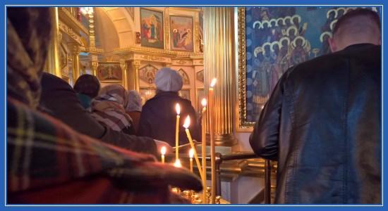 Служба в Покровском храме