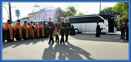 Принесение мощей святителя Николая в Москву