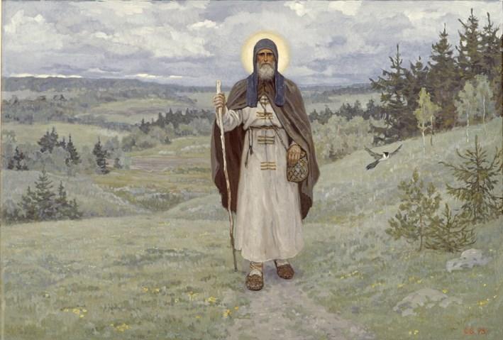 Преподобный Сергий. По Руси.