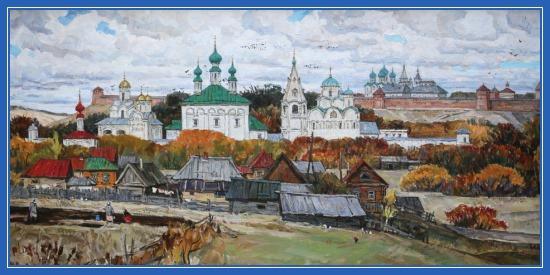 Суздальский монастырь