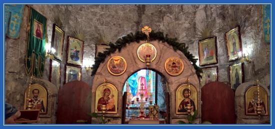 Храм св. Ипатия Гангрского. город Гагры. Абхазия