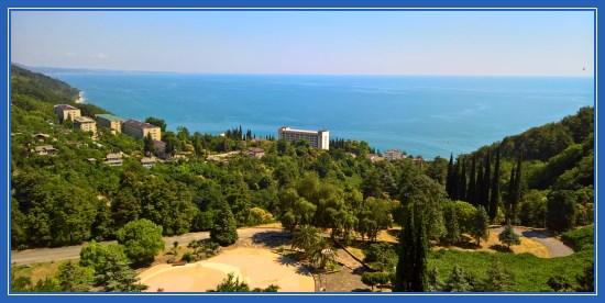 Отдых в Абхазии. Море