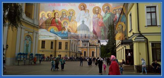 Покровский монастырь накануне Успения Пресвятой Богородицы