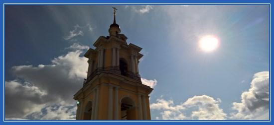 Покровский монастырь. Колокольня