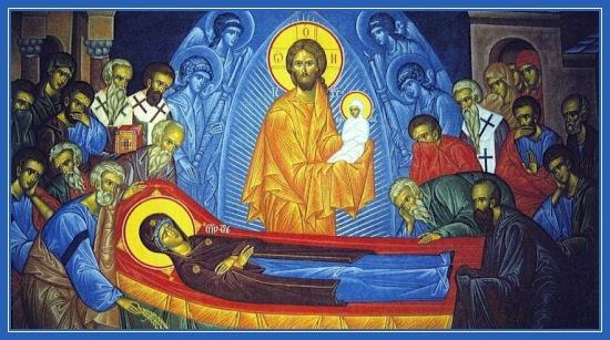 Успение Пресвятой Богородицы. Праздник 28 августа
