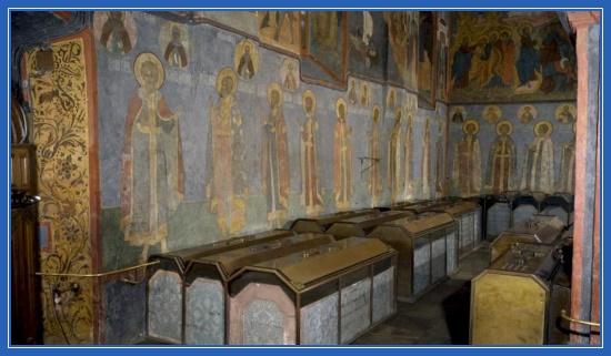 Архангельский собор - усыпальницы