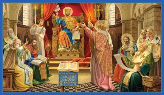 Вселенский собор, Святитель Спиридон