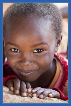 Африканская девочка