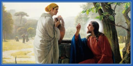 Беседа с самарянкой у колодцы. Самарянка Фотиния