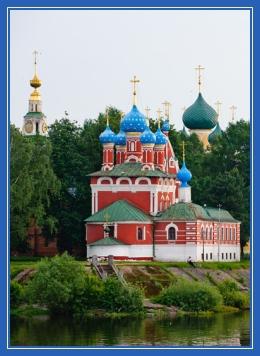 Храм пятиглавый, Церковь, Углич