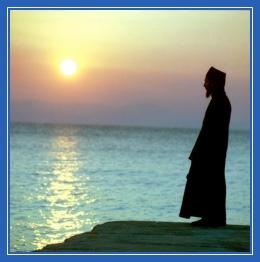 Послушник, море, монах