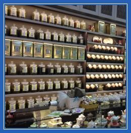 Прилавок, чай, чайный магазин
