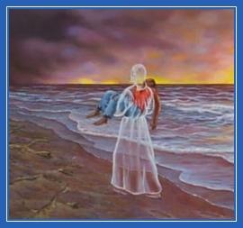 Следы на песке, помощь Божия