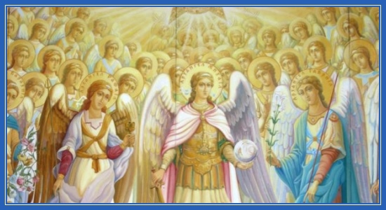 Архангелы и Ангелы, Небесные силы