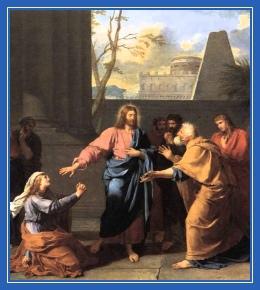 Хананеянка, молитва, мольба, просьба, Иисус Христос