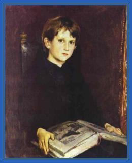 Мальчик, чтение, книга