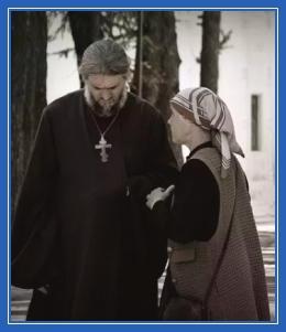 Батюшка, благослвоение, священник, вопрос