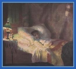 Больная, постель. кровать