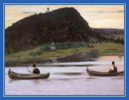 Монахи, рыбалка, лодки