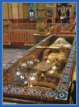 Мощи святителя Иоасафа Белгородского