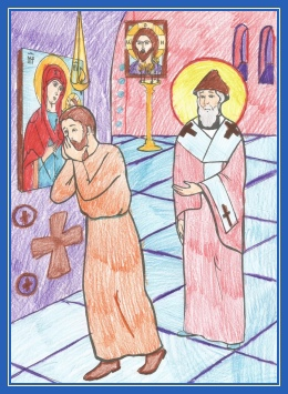 Наказание диакона свтятителем Спиридоном